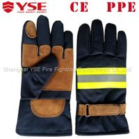 YSE CE EN rescue fire fighter gloves