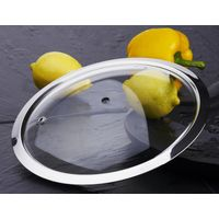 F type tempered glass lid for cookware