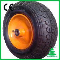 pneumatic type barrow wheel 3.50-8