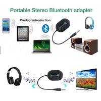 BM-E9 Bluetooth 3.0 Audio Music Receiver Black thumbnail image
