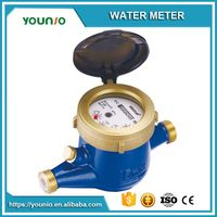 Younio Multi Jet Semi Liquid Sealed Type Mid Certified Water Meter,Medidor de agua