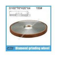 Flat shape resin bond diamond abrasive grinding wheel for tungsten carbide steel grinding and sharpe thumbnail image