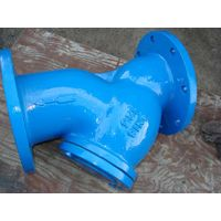 Iron and ductile iron Y strainer