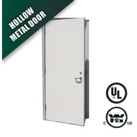 steel fire door in flush type