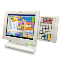 "300x Wincor BA82/E - 12"" touch monitor - white color - 19 Eur thumbnail image"