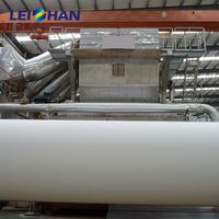 Wood pulp or Waste Paper Crescent Former Toilet Tissue Paper Making Machine thumbnail image
