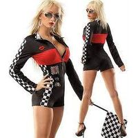 2014 Best selling racer sexy costumes ANA-001