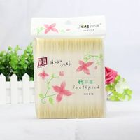 800pcs 100%pure wooden bamboo toothpicks tablaware in bag manufacturer wholesale thumbnail image