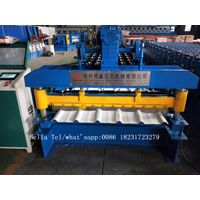 Electric cutting trapezoidal roofing sheet roll forming machine