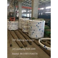 Galvanized steel wire for fishing net 18#,19#