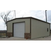 Light Steel Structure Fabric Storage Shed thumbnail image
