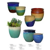 Flower garden pots