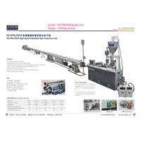 PE/PPR/PERT High Speed Polyolefin Pipe Production Line