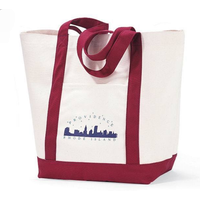 heavy canvas boat tote bag/shopping bag thumbnail image