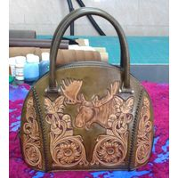 Latest Ancient Classic Style Fashionable 100% handcraft Ladies Tote Bag - SZCM002