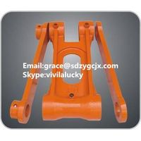 PC220-7 bucket link with part No.206-70-73111, excavator spare parts thumbnail image