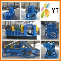 old tyre recycling equipment with high quality