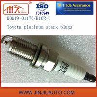 Spark Plugs 90919-01176 90919-01166 K16r-U