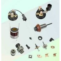 starter solenoid and components