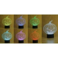 NL3 acrylic panel 3d colorful night light