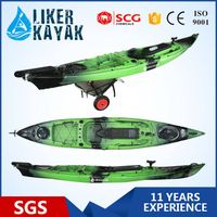 Hot Sale 4.3m Fishing Kayak with adjustable seat