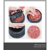Plastic burger maker