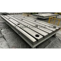 floor bed plate t-slots tables for turning machine