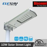 Waterproof Outdoor Integrated Solar Garden Lamp With Motion Sensor thumbnail image
