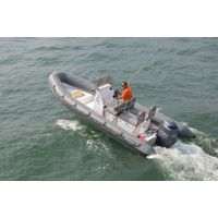 6.5m rib boat RIB-650 hypalon with CE certificate for sale