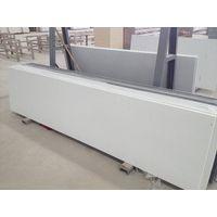 Pure white quartz slab countertop table top