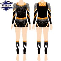 Cheer Dance Costumes Plus Size Cheerleading Uniforms Custom Cheer Uniforms thumbnail image
