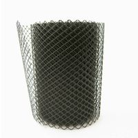 Diamond plastic net /black color plastic mesh