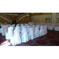 orgaza sashes chair covers