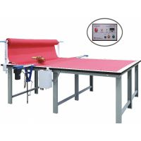 semi automatic cloth end cutter cutting machine