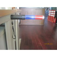 red and blue LED traffic baton