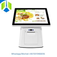 Thermal printer POS system 3G/4G wireless pos machine NFC support cash register