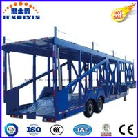 Tri Axle Car Vehicle Transport Truck Trailer for Sale