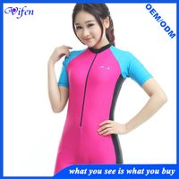 girl pink swim suit swimsuits lycra swimwear rashguard short one piece type online wholesale