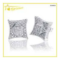 hip hop lab diamond earrings