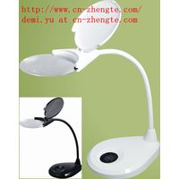 Table Magnifier Magnifying Lamp 4-Level Dimmer Control Rechargeable
