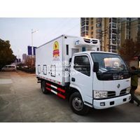 Dongfeng 3 Ton Van Chicks Transported Truck with Colling Reefer And Adjusted Temperature Freely