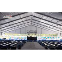 500 People House Shaped Tents, aluminum frame tent
