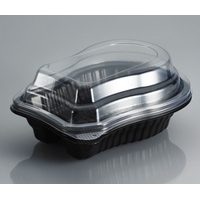 Plastic Processed Meat Container