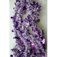 Colored Tinsel Garland for Party Decoration