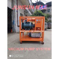 ZJP Series Vacuum Pump System, Vacuum Pumping Group, Two Stage High Vacuum Evacuation Equipment thumbnail image
