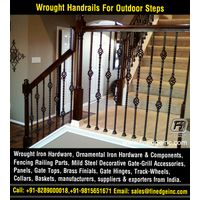 ornamental iron gates hardware accessories parts manufacturers exporters suppliers India