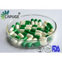 Empty Vegetable Capsules 0 green& white