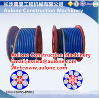 EP8XK36WS-IWRC PVC coated steel wire rope
