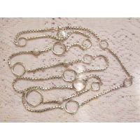 Sterling Silver Jewelry 925 Silver Chain Necklace 44 inches (N-029) thumbnail image