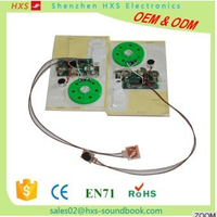 Programmable and Recordable Greeting Card Sound Chip